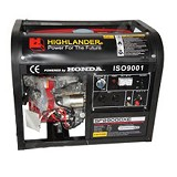 HIGHLANDER Honda Machine Genset [SF-2900 DXE] - Genset Bensin